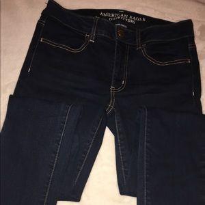 American Eagle dark wash jeans